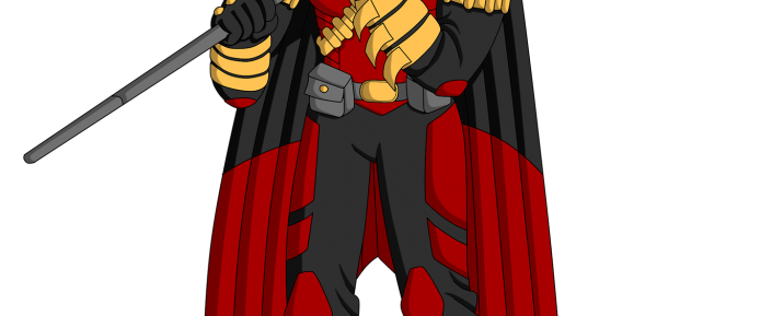 "Tim Drake / Red Robin de ""Batman Family: Legacy"""