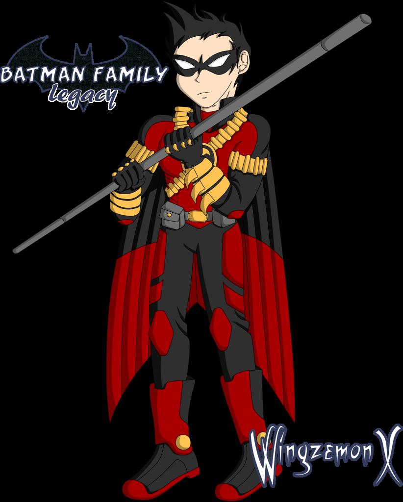 """Tim Drake / Red Robin de """"Batman Family: Legacy"""""""