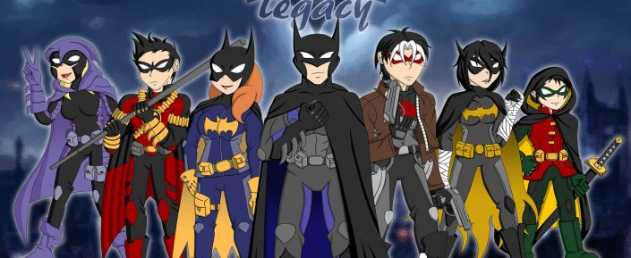 "Batifamilia de ""Batman Family: Legacy"""