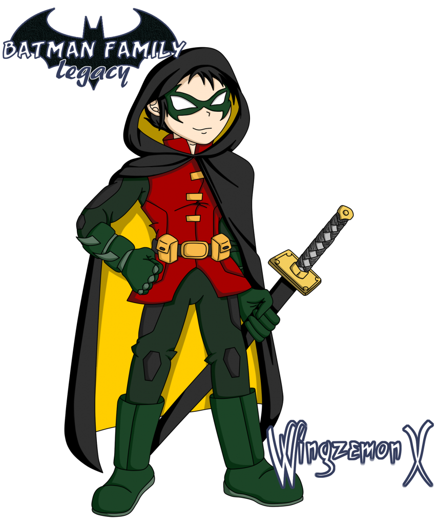 "Damian Wayne / Robin de ""Batman Family: Legacy"""