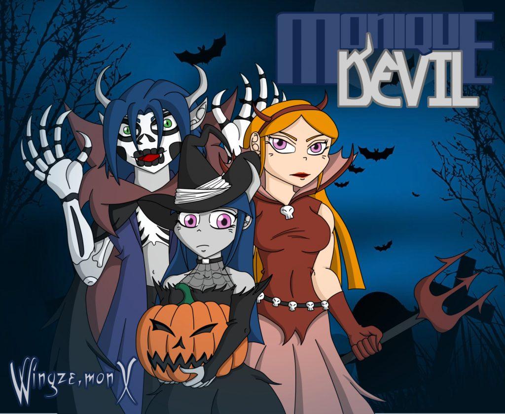 Monique Devil - Halloween 2017