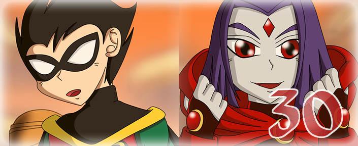 Teen Titans: The Sinners - Capítulo 30. La Verdadera Raven