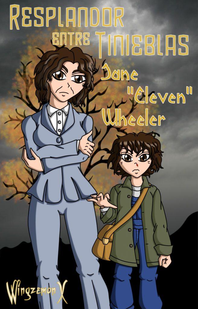 "Jane ""Eleven"" Wheeler (Ives/Hopper) de ""Resplandor entre Tinienblas"""