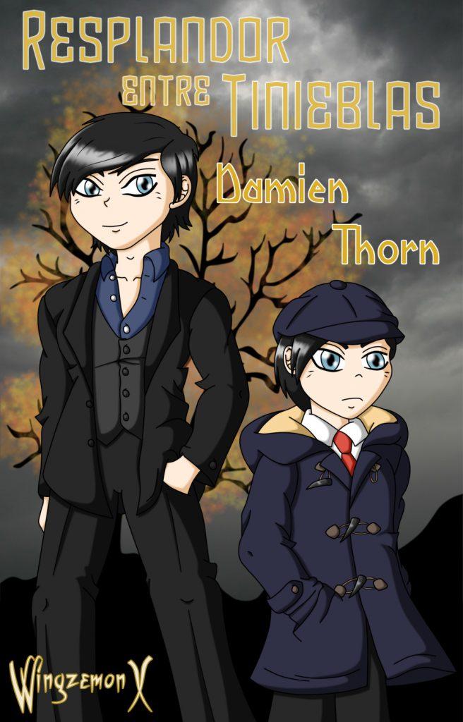 """Damien Thorn de """"Resplandor entre Tinienblas"""""""