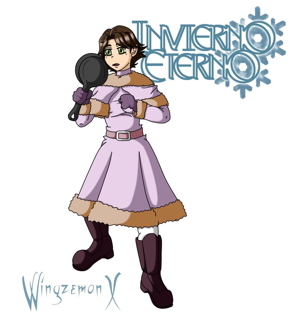 """Rapunzel de """"Invierno Eterno"""""""