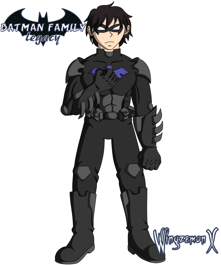 "Richard Grayson / Nightwing de ""Batman Family: Legacy"""