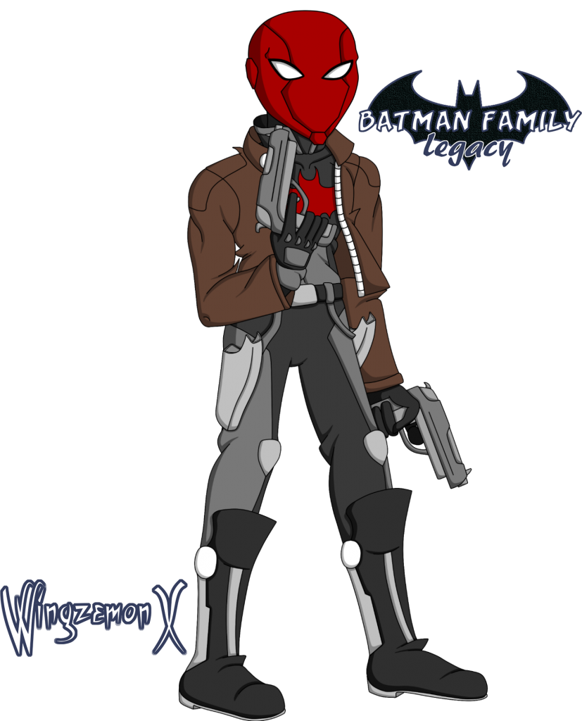 """Jason Todd / Red Hood de """"Batman Family: Legacy"""" (Versión Alternativa)"""