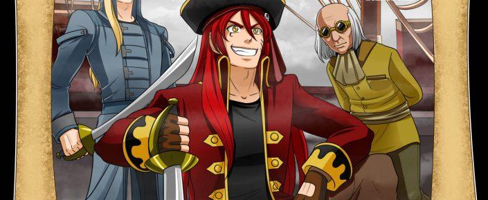 Crónicas del Fénix del Mar - Capítulo 01. Jude el Carmesí, el Último Gran Señor Pirata