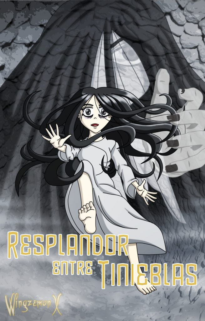 """Samara Morgan para la nueva portada de """"Resplandor entre Tinienblas"""""""